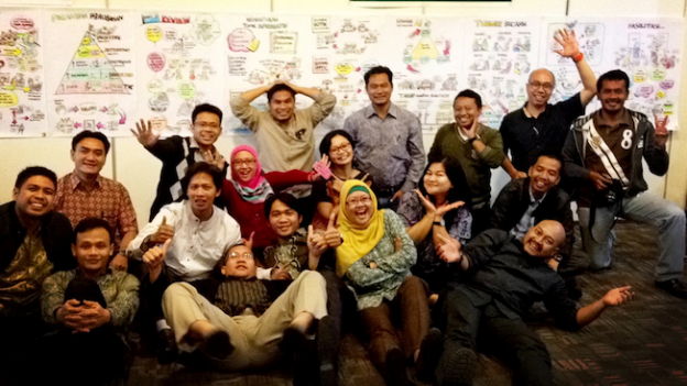 Foto bareng workshop Appreciative Inquiry KPK