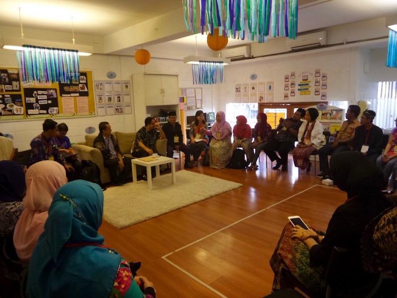 Sarapan Pagi bersama menteri pendidikan guru belajar