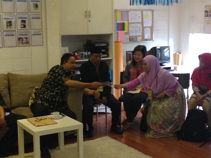 Sarapan Pagi bersama menteri pendidikan guru belajar 2