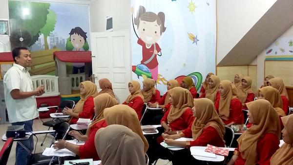 1 Kelas Anak Bukan Kertas Kosong Pekanbaru TK Alifa Kids