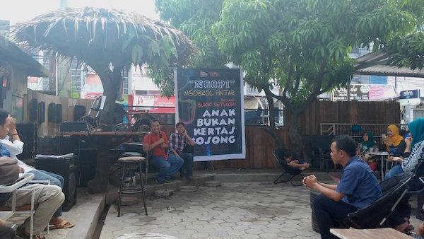 Temu Pendidik Makassar Anak Bukan Kertas Kosong